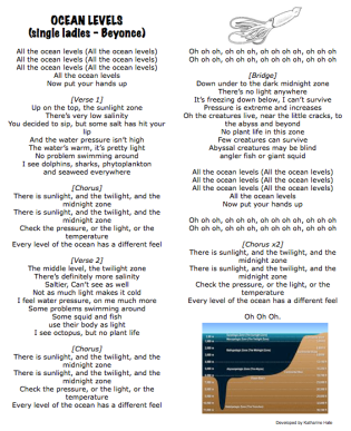 Ocean Levels (Single Ladies -Beyonce)